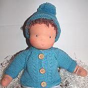 """Куклы и игрушки ручной работы. Ярмарка Мастеров - ручная работа Вальдорфская кукла-мальчик """"Зимний"""" 42 см. Handmade."""