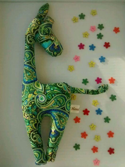 Игрушки животные, ручной работы. Ярмарка Мастеров - ручная работа. Купить Игрушка сплюшка жирафик Зои. Handmade. для детей, синтепух
