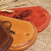 """Для дома и интерьера ручной работы. Ярмарка Мастеров - ручная работа Сырные доски -""""Country house"""" (набор из 3-х разделочных досок). Handmade."""