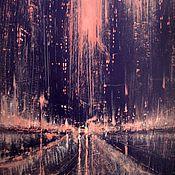 Картины и панно handmade. Livemaster - original item City of the Night. Handmade.