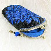 Сумки и аксессуары handmade. Livemaster - original item Eyeglass case beaded with clasp