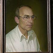 Картины и панно ручной работы. Ярмарка Мастеров - ручная работа Портрет доктора. Handmade.