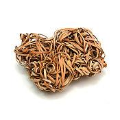 Для дома и интерьера handmade. Livemaster - original item Bast of birch bark. Washcloth natural. Handmade.