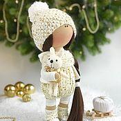 Куклы и игрушки ручной работы. Ярмарка Мастеров - ручная работа Интерьерная текстильная кукла Thea (Теа). Handmade.