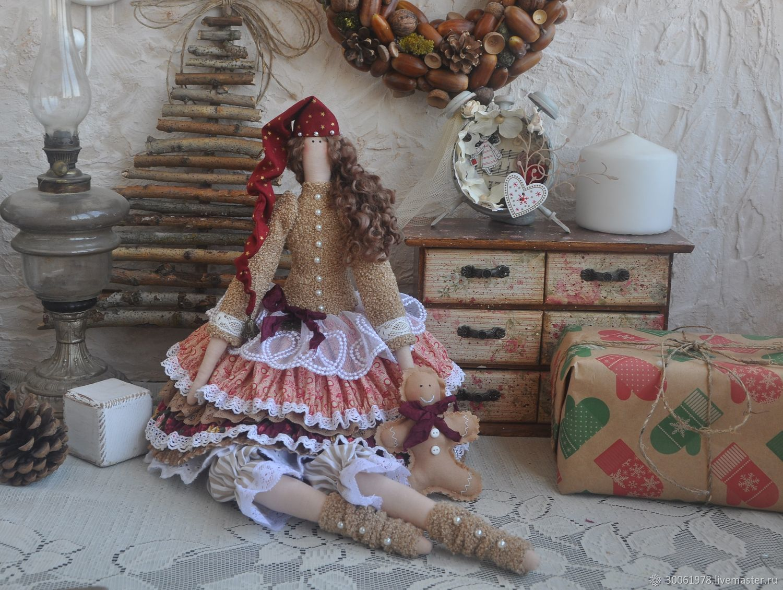 """Кукла в стиле Тильда""""Имбирный пряник"""", Тильды, Славянск-на-Кубани, Фото №1"""