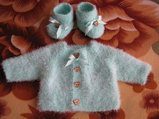 Одежда для кукол ручной работы. Ярмарка Мастеров - ручная работа. Купить КОМПЛЕКТ ВЯЗАНЫЙ. Handmade. Разноцветный, вязание для кукол