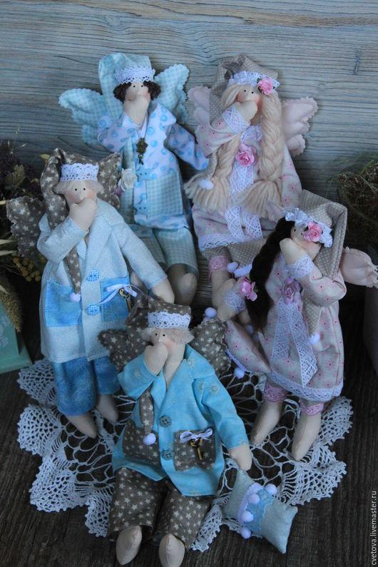 Куклы Тильды ручной работы. Ярмарка Мастеров - ручная работа. Купить Ангелочки снов. Handmade. Ангел, тильда, кукла интерьерная