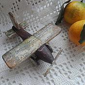 """Куклы и игрушки ручной работы. Ярмарка Мастеров - ручная работа Самолетик """"Из детства-м"""". Handmade."""