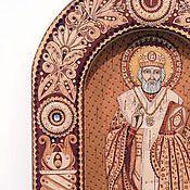 Картины и панно ручной работы. Ярмарка Мастеров - ручная работа Святой Николай Чудотворец . Handmade.