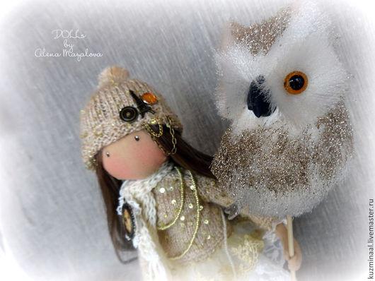 Человечки ручной работы. Ярмарка Мастеров - ручная работа. Купить ANNY.... Handmade. Золотой, кукла, куклы и игрушки, для детсокй, девочка
