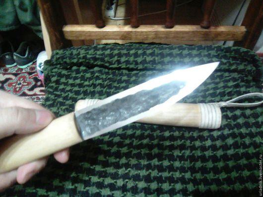 Оружие ручной работы. Ярмарка Мастеров - ручная работа. Купить Якутский традиционный нож в деревянных ножнах. Handmade. Бежевый, подарок