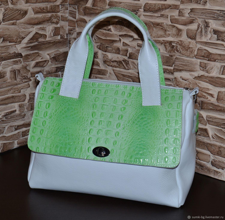 Leather bag leather Handbag Model 137, Classic Bag, Bogorodsk,  Фото №1