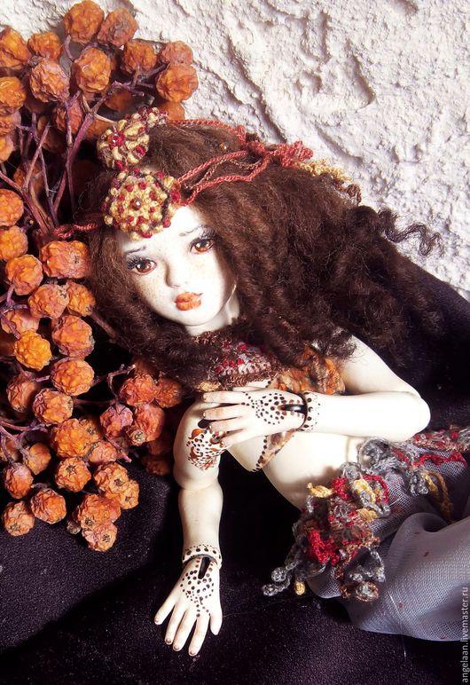 Коллекционные куклы ручной работы. Ярмарка Мастеров - ручная работа. Купить Яспис (фарфоровая шарнирная кукла).. Handmade. Шарнирная кукла