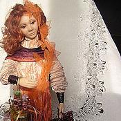 Куклы и игрушки ручной работы. Ярмарка Мастеров - ручная работа кукла  осень. Handmade.