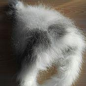 Работы для детей, ручной работы. Ярмарка Мастеров - ручная работа Шапка гномик из кроличьего пуха. Handmade.