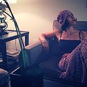 Одежда ручной работы. Ярмарка Мастеров - ручная работа Юбка и шапочка для Натали. Handmade.