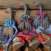Для дома и интерьера ручной работы. Ярмарка Мастеров - ручная работа Гусь-пакетница. Handmade.