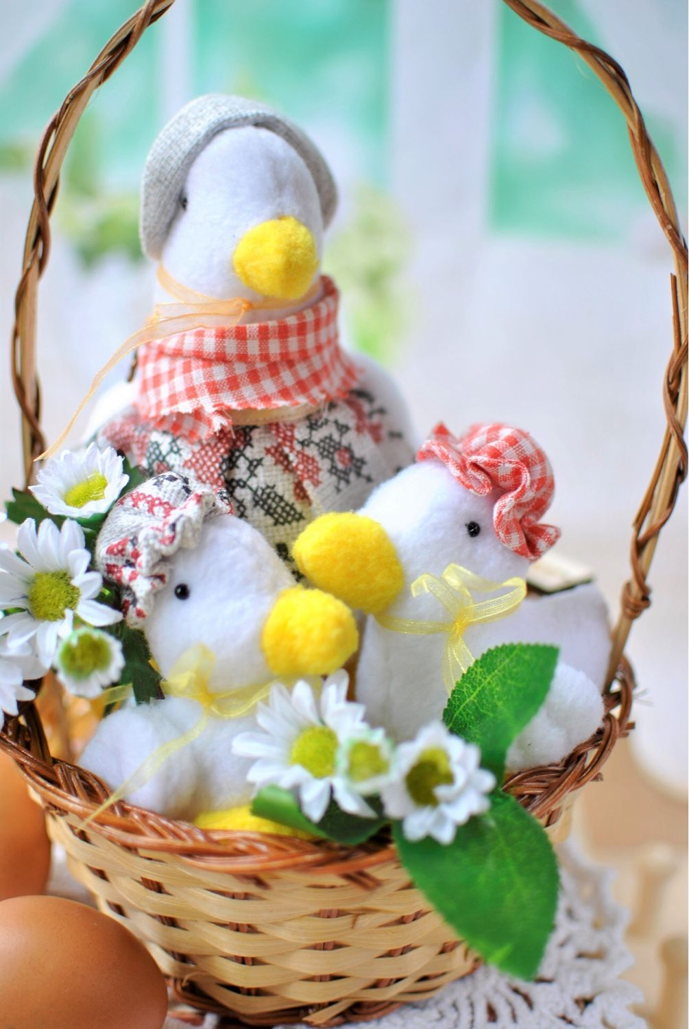 Mother duck with babies composition shop online on livemaster easter gifts handmade mother duck with babies composition nashasasha my livemaster negle Image collections