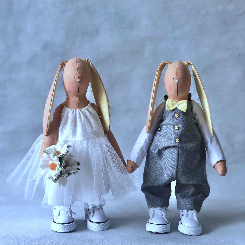 Свадебные зайки. Подарок на свадьбу молодоженам, Подарки, Москва,  Фото №1
