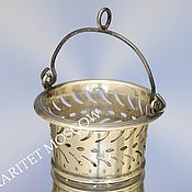 Винтаж ручной работы. Ярмарка Мастеров - ручная работа Ситечко для чая серебро 800 пробы 3. Handmade.