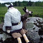 Куклы и игрушки ручной работы. Ярмарка Мастеров - ручная работа Викинг с лосиком. Handmade.