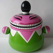 Посуда ручной работы. Ярмарка Мастеров - ручная работа Мистер Чи-ёмкость для чая. Handmade.