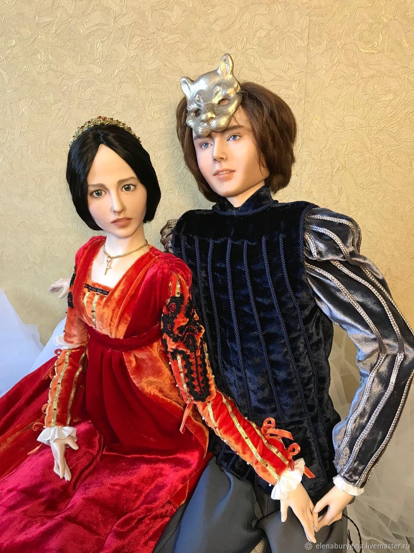 Ромео и Джульетта. Портретные куклы, Портретная кукла, Омск,  Фото №1