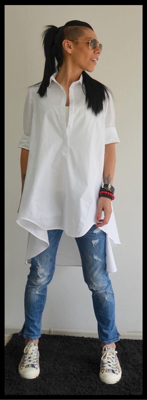 fde19470f19 Блузки ручной работы. Ярмарка Мастеров - ручная работа. Купить Рубашка Maxi  White.