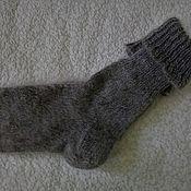 Аксессуары handmade. Livemaster - original item Warm fashion high feather socks. Handmade.