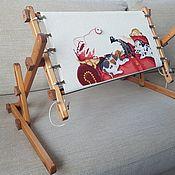 Инструменты для вышивки ручной работы. Ярмарка Мастеров - ручная работа Станок для вышивания диванный.. Handmade.