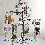 Украшения ручной работы. Ярмарка Мастеров - ручная работа Чудесное дерево - подставка под украшения. Handmade.