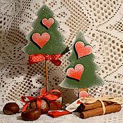 Подарки к праздникам ручной работы. Ярмарка Мастеров - ручная работа Елочка под елочку - Новогоднее украшение. Handmade.