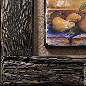 Картины и панно handmade. Livemaster - original item Vintage still life with pears, panels.. Handmade.