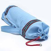 Сумки и аксессуары ручной работы. Ярмарка Мастеров - ручная работа чехол для йога коврика. Handmade.