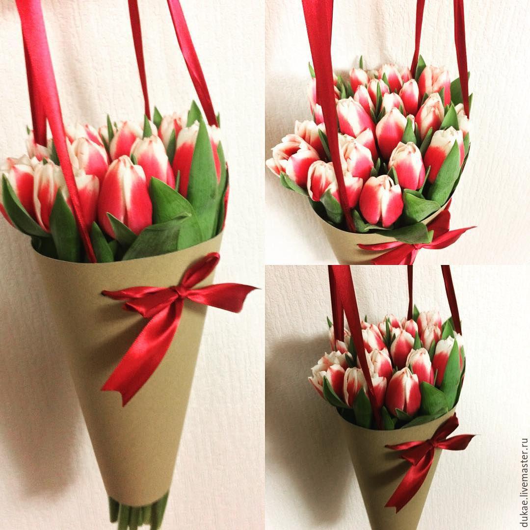 Конус для цветов упаковка