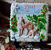 Сувениры и подарки handmade. Livemaster - original item Gingerbread Christmas