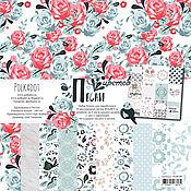 Набор бумаги для скрапбукинга «Песни цветов»