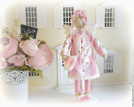 Куклы Тильды ручной работы. Ярмарка Мастеров - ручная работа. Купить Тильда Сплюшка Розовые сны. Handmade. Сплюшка