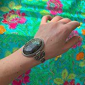 Украшения handmade. Livemaster - original item Bracelet with a large labrador. Fittings plated with silver.. Handmade.