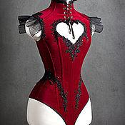 """Одежда ручной работы. Ярмарка Мастеров - ручная работа Корсет - боди """" Velvet Heart """". Handmade."""