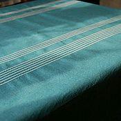 Для дома и интерьера ручной работы. Ярмарка Мастеров - ручная работа Скатерть из льна. Handmade.