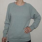 Одежда ручной работы. Ярмарка Мастеров - ручная работа Джемпер женский шерстяной. Handmade.