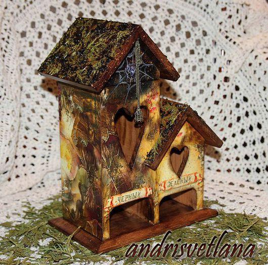 Кухня ручной работы. Ярмарка Мастеров - ручная работа. Купить Чайный домик Избушка Бабы Яги. Handmade.