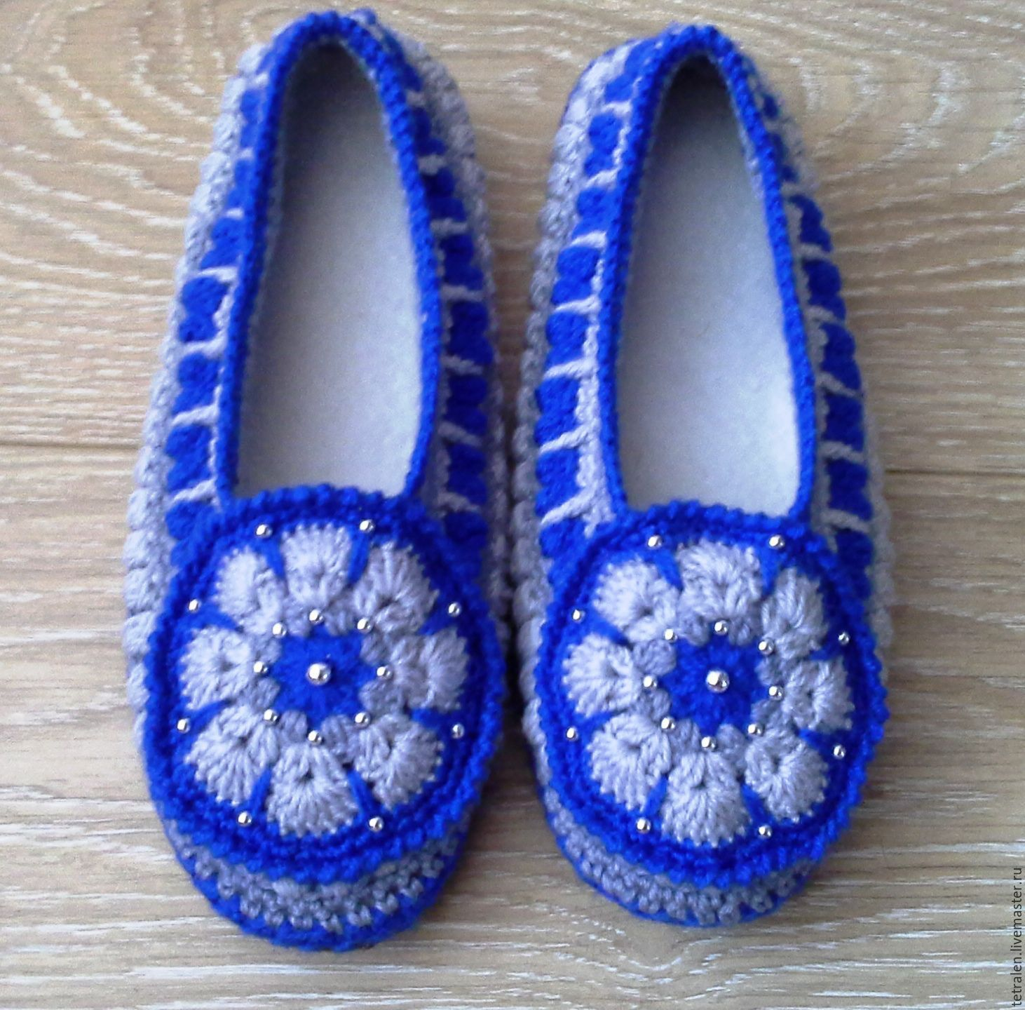 50db09d7661cd6 Handmade Shoes handmade. Livemaster - handmade. Buy Home Slippers crochet  Vasilisa.