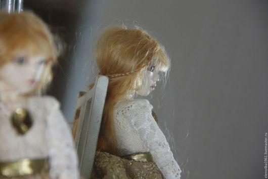 Коллекционные куклы ручной работы. Ярмарка Мастеров - ручная работа. Купить кукла Адель. Handmade. Шарнирная кукла, полимерная глина