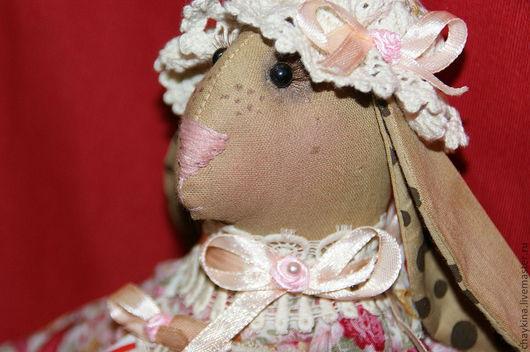 Игрушки животные, ручной работы. Ярмарка Мастеров - ручная работа. Купить Крольчиха Жози. Handmade. Крольчиха, кролик, 100% хлопок