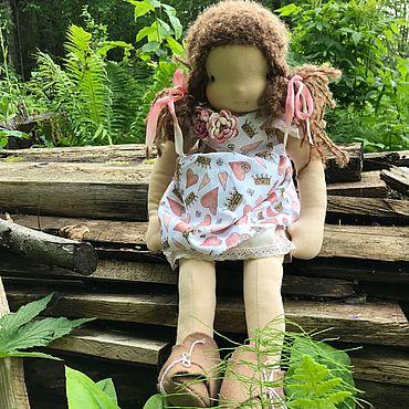 Куклы и игрушки ручной работы. Ярмарка Мастеров - ручная работа Кукла вальдорфская Маруся, 52 см. Handmade.