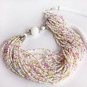 Necklace handmade. Livemaster - original item Necklace Tenderness of spring. Handmade.