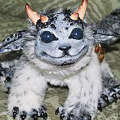 Куклы и игрушки ручной работы. Ярмарка Мастеров - ручная работа Снежный Дракоша. Handmade.