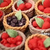 Мыло ручной работы. Ярмарка Мастеров - ручная работа Лукошко с ягодами. Handmade.